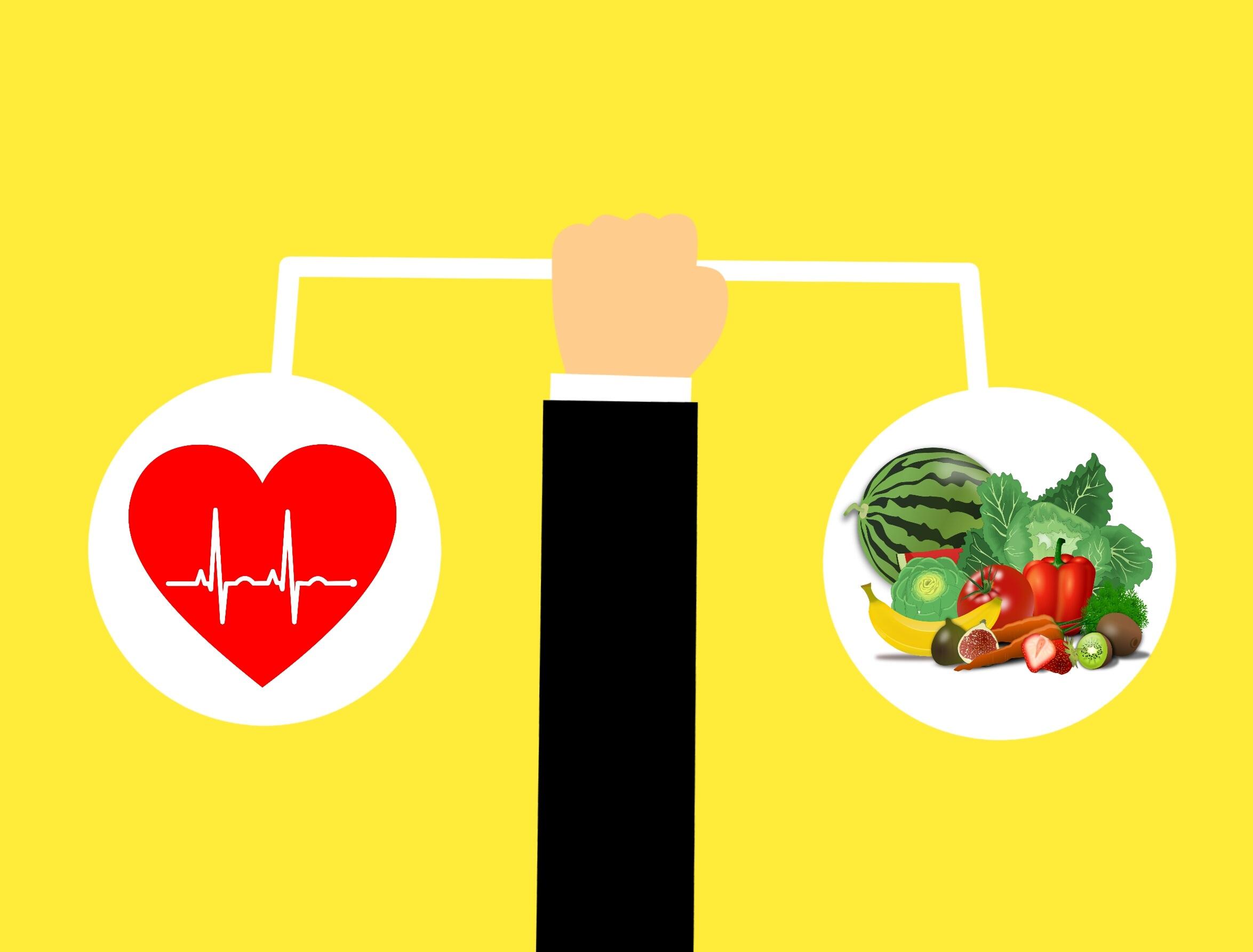 Cholesterol verlagen en goede voeding voor hart en bloedvaten